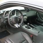 Camaro SS Cockpit mit Handschaltung