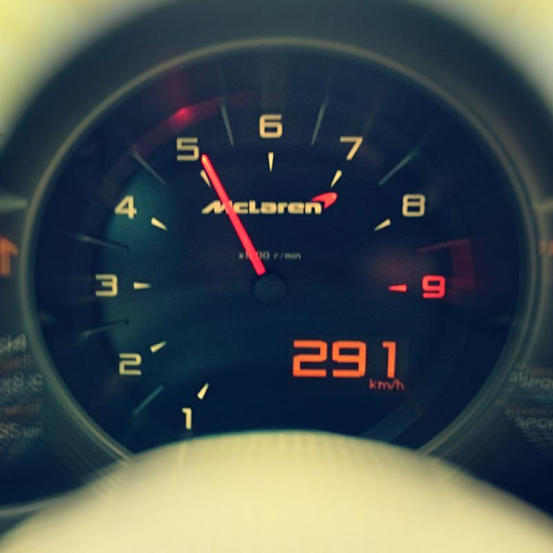 McLaren fahren in Weeze
