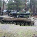 Flugabwehrkanonenpanzer Gepard der Bundeswehr