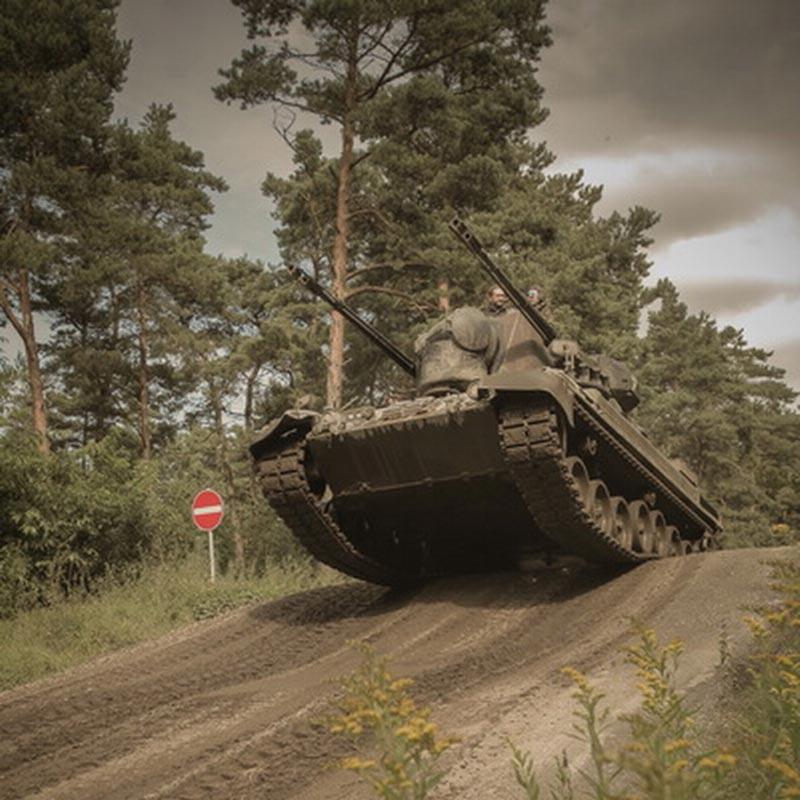 Gepard Panzer fahren in Niedersachsen