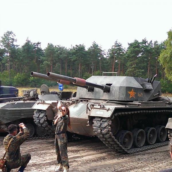 M48 Kampfpanzer fahren in Niedersachsen
