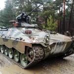 Schützenpanzer Marder mit 600 PS