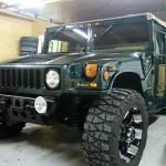 Hummer H1 4 door open top