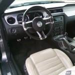 Cockpit mit Schaltgetriebe